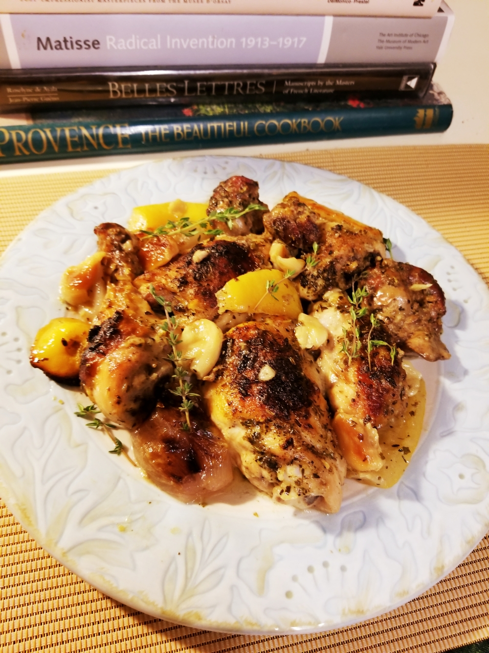 Roasted Chicken with Provence spices