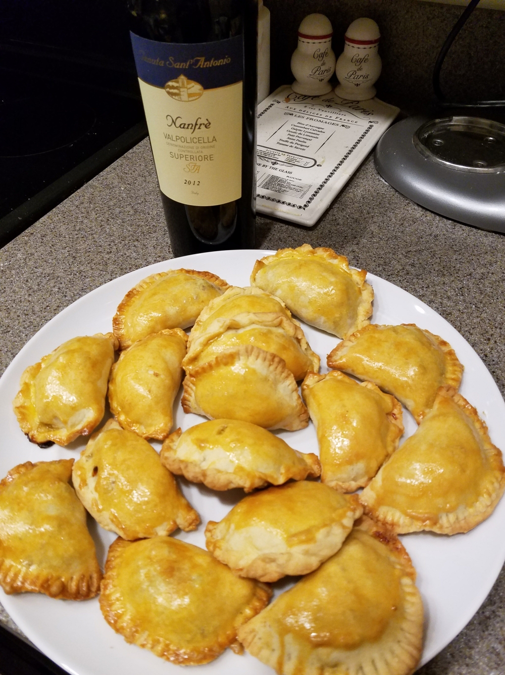 Baked or Fried Beef Empanadas