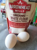 Flour and Duck eggs